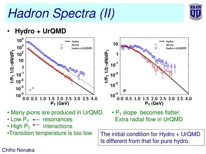 Hadron Spectra (II)
