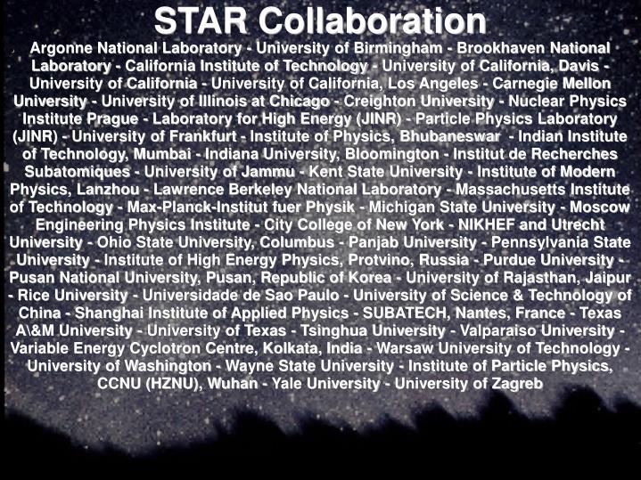 STAR Collaboration