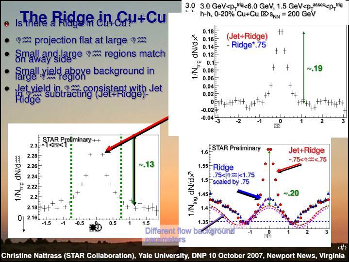 The Ridge in Cu+Cu