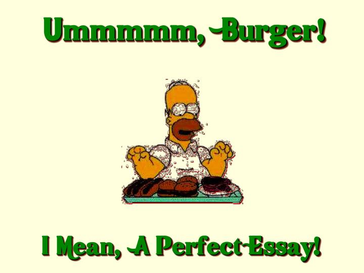 Ummmmm,  Burger!