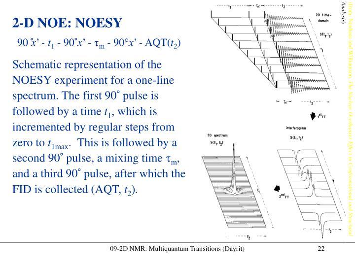 09-2D NMR: Multiquantum Transitions (Dayrit)