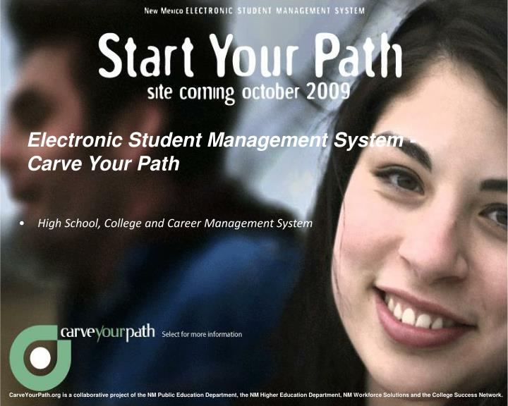 Electronic Student Management System -