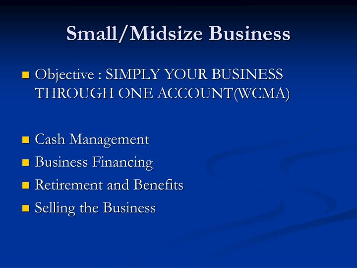 Small/Midsize Business