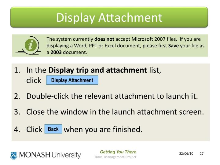 Display Attachment