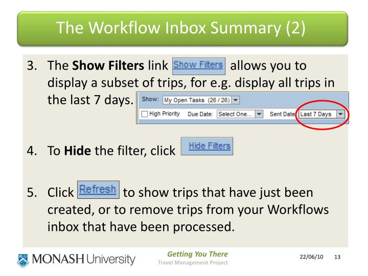 The Workflow Inbox Summary (2)
