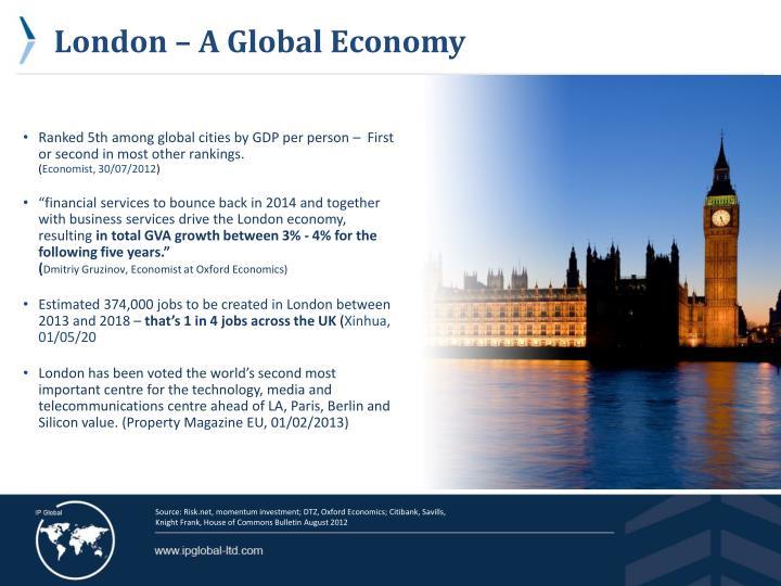 London – A Global Economy