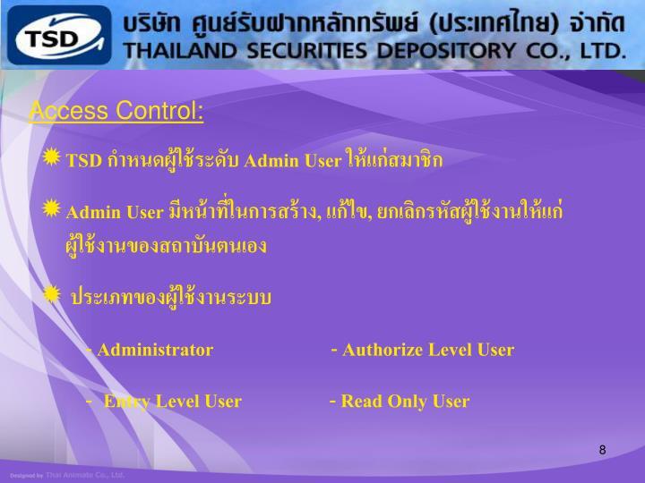 Access Control: