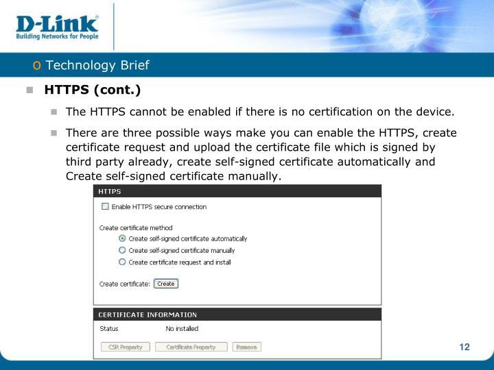 HTTPS (cont.)