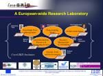 a european wide research laboratory