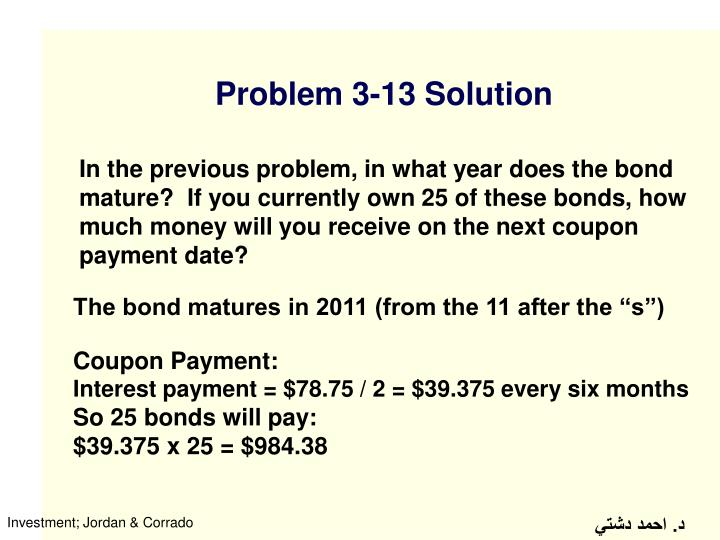 Problem 3-13 Solution