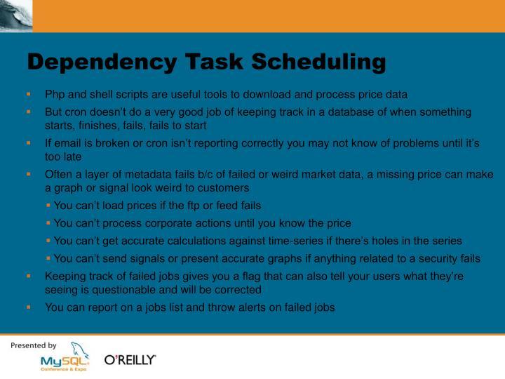 Dependency Task Scheduling