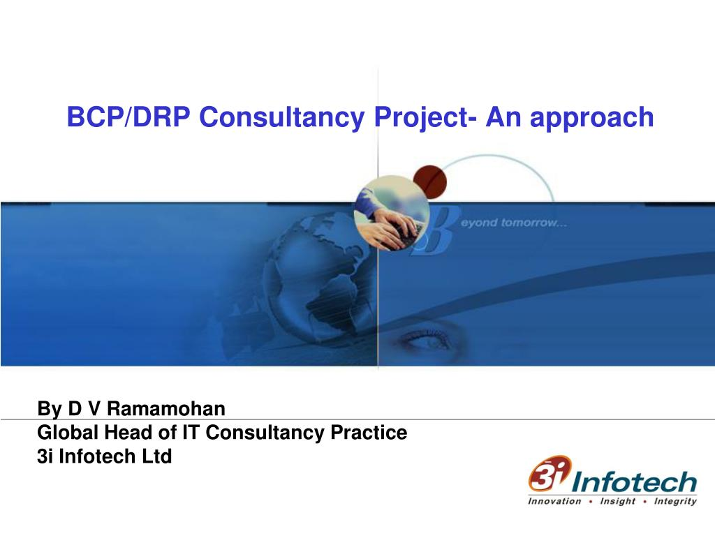 Ppt Bcp Drp Consultancy Project An Approach Powerpoint