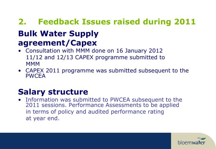 Ppt Presentation To The Portfolio Committee On Water