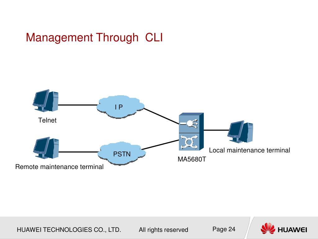 PPT - OBG001100 MA5680-T Product Description PowerPoint