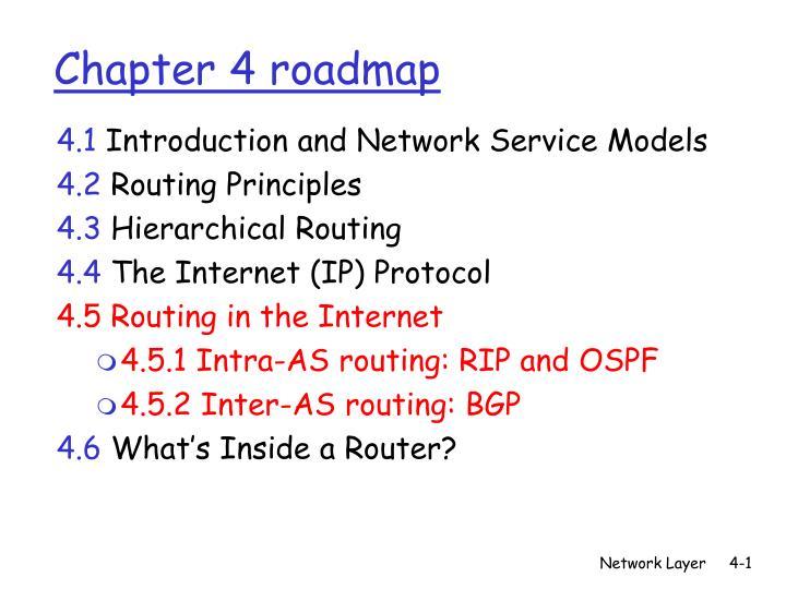 chapter 4 roadmap n.