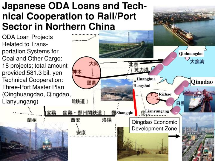 Japanese ODA Loans and Tech-nical Cooperation to Rail/Port Sector in Northern China