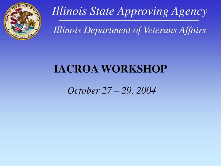 Iacroa workshop