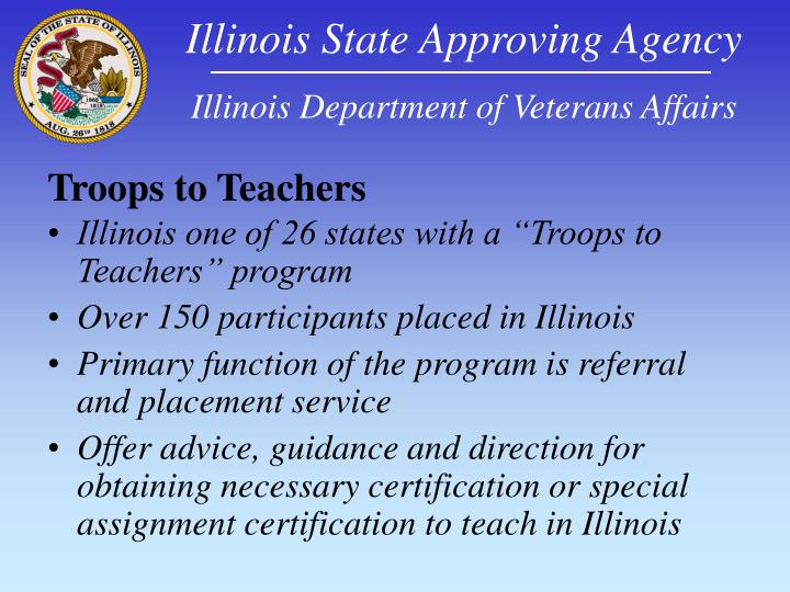 Illinois State Approving Agency