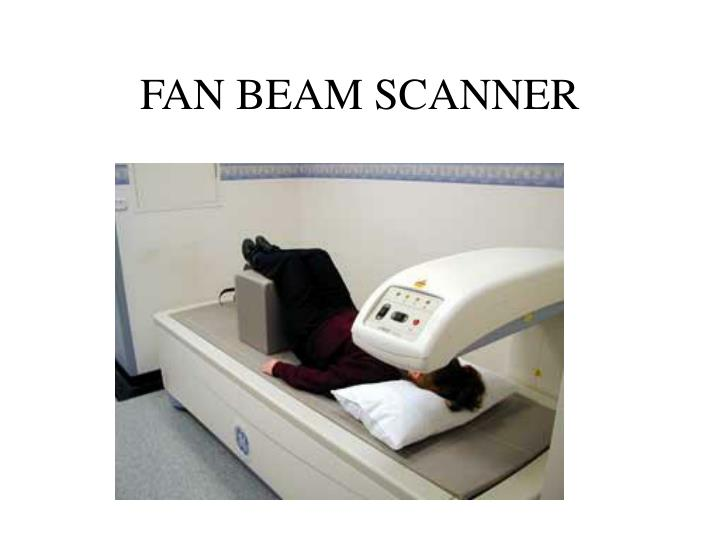 FAN BEAM SCANNER