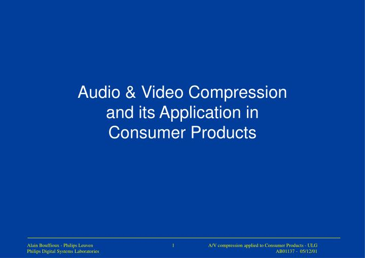ntroduction to the production of compressed This document is an introduction to compressed audio it covers the basics of sound waves, how audio is stored digitally, why compressed the size problem - why there is a desire to compress digital audio lossless compression - on the sort of compression.