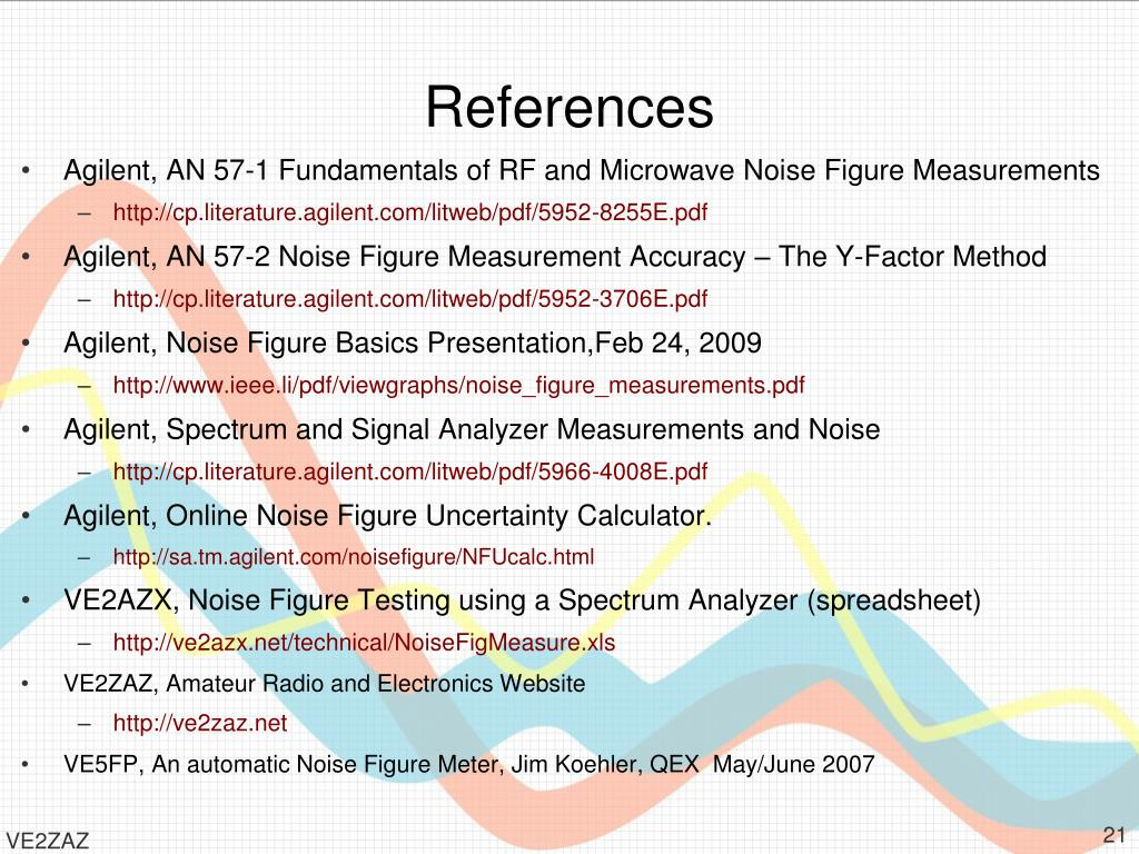PPT - Noise Figure Definitions and Measurements What is this all