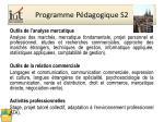 programme p dagogique s2