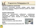 programme p dagogique s4