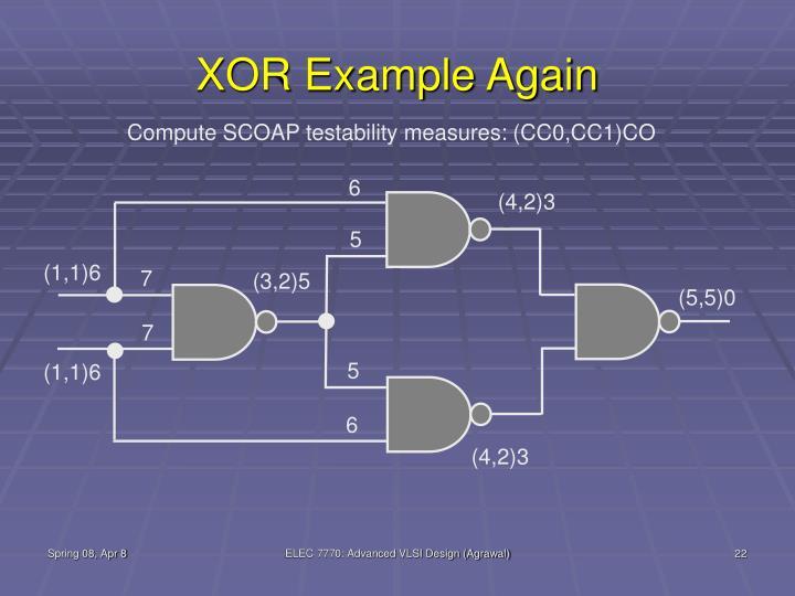 XOR Example Again