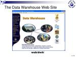 the data warehouse web site