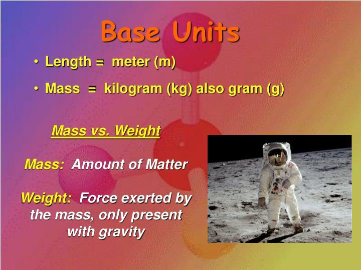 Base Units
