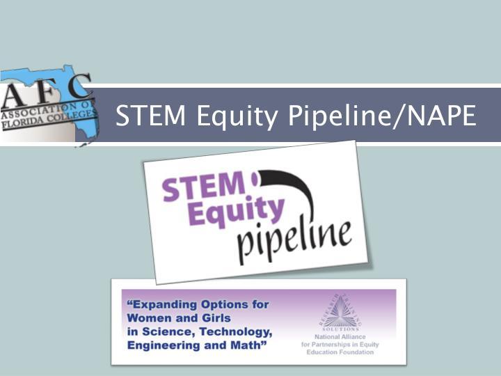 STEM Equity Pipeline/NAPE