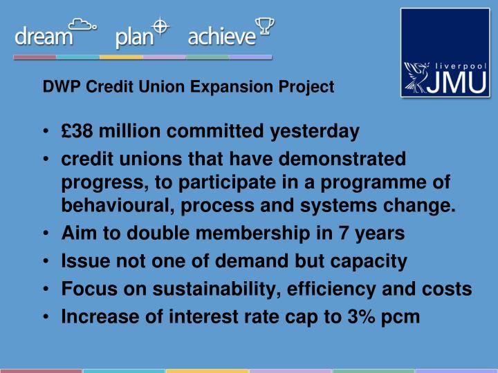 DWP Credit Union Expansion Project