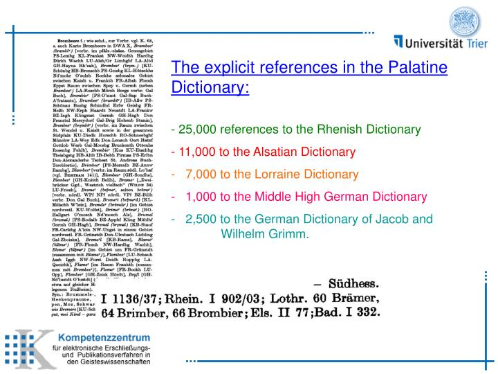 PPT - Digital Network of German Dialect Dictionaries PowerPoint
