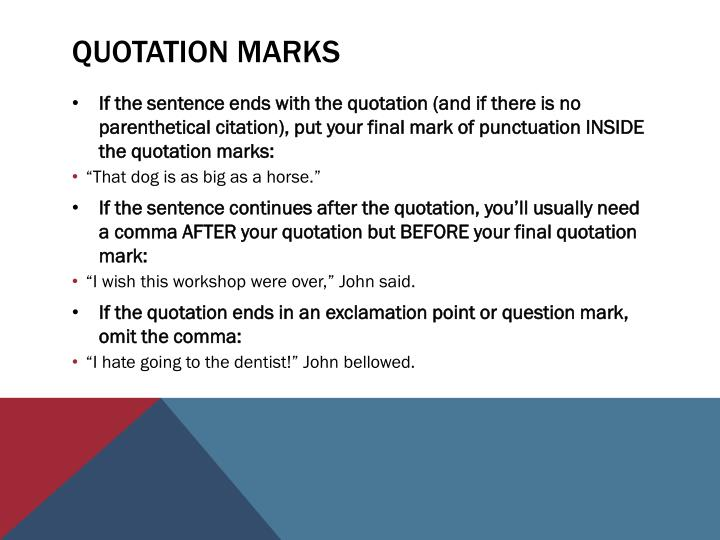 Do You Put Commas Before Quotes: Common Grammar Mistakes PowerPoint Presentation