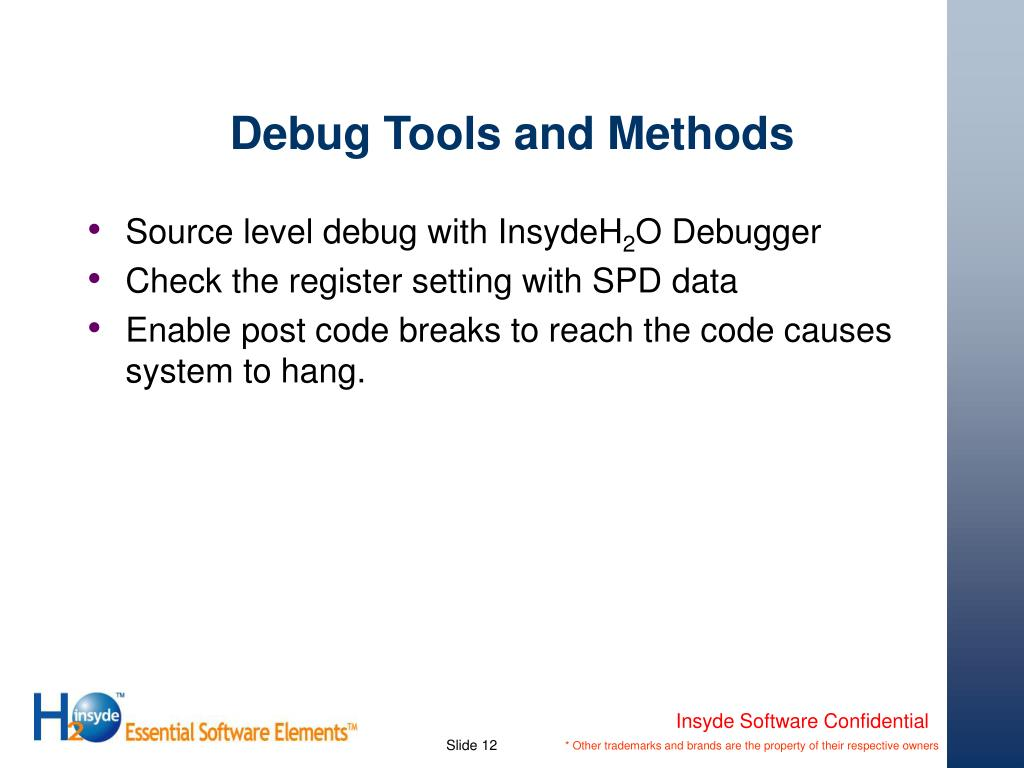 PPT - Advanced Debug of the Framework PowerPoint