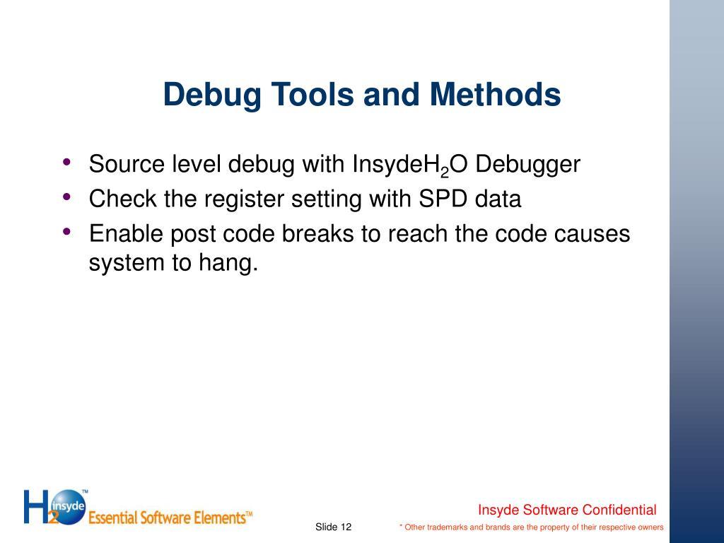 PPT - Advanced Debug of the Framework PowerPoint Presentation - ID