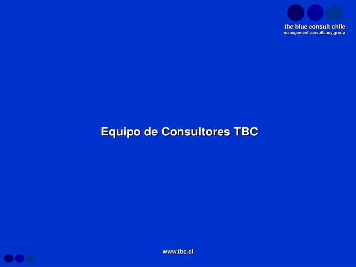 Equipo de Consultores TBC