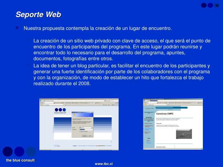 Seporte Web