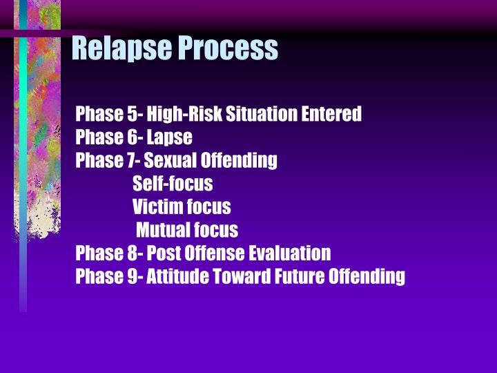 Relapse Process