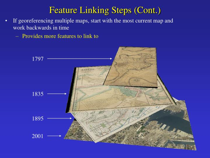 Feature Linking Steps (Cont.)