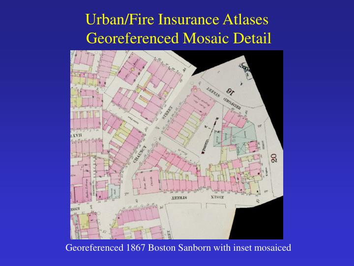 Urban/Fire Insurance Atlases