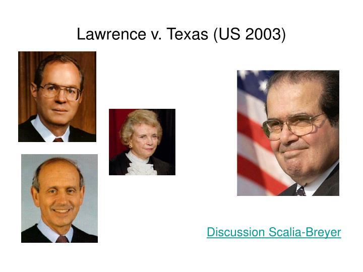 Lawrence v texas us 2003