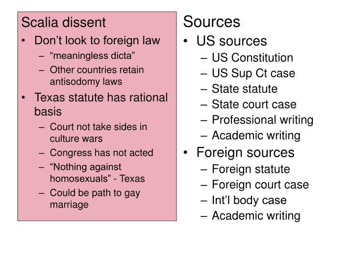 Scalia dissent