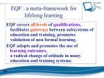 eqf a meta framework for lifelong learning