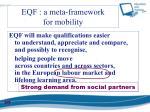 eqf a meta framework for mobility