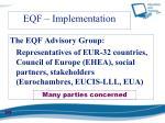 eqf implementation1