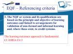 eqf referencing criteria2
