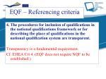 eqf referencing criteria3