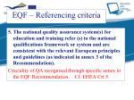 eqf referencing criteria4