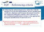 eqf referencing criteria9